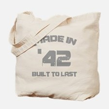 1942 Built To Last Tote Bag