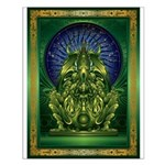Cthulhu God Small Poster