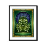 Cthulhu God Framed Panel Print