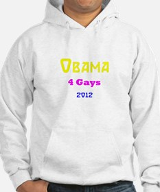 obama for gays shirt 2012 Hoodie