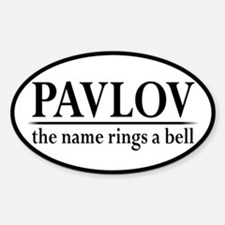 Pavlov Rings Bells Decal