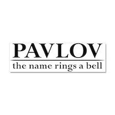 Pavlov Rings Bells Car Magnet 10 x 3