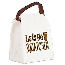 Let's Go Squatchin! Canvas Lunch Bag