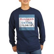 Runners for Obama T