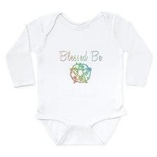 Blessed be Long Sleeve Infant Bodysuit