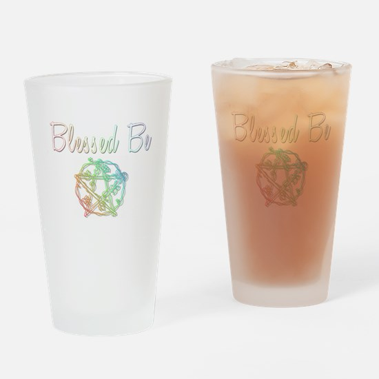 Blessed be Drinking Glass