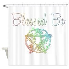 Blessed be Shower Curtain