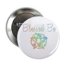 """Blessed be 2.25"""" Button"""