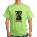 Cthulhu Statue Green T-Shirt