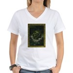 Cthulhu Rising Women's V-Neck T-Shirt