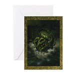 Cthulhu Rising Greeting Cards (Pk of 10)