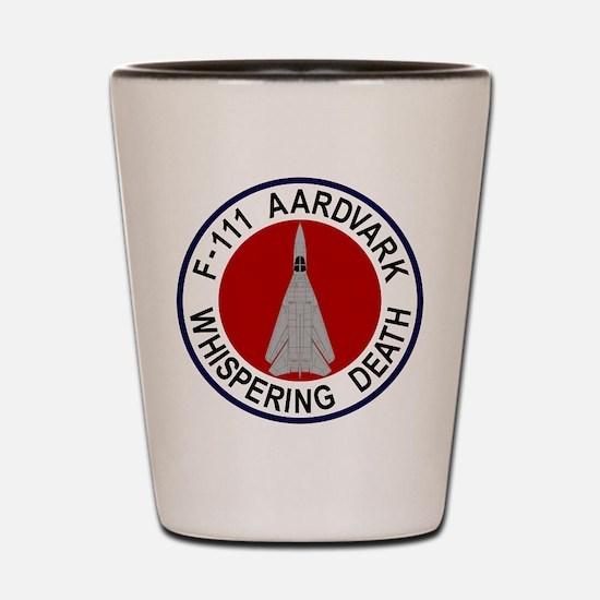 F-111 Aardvark Shot Glass
