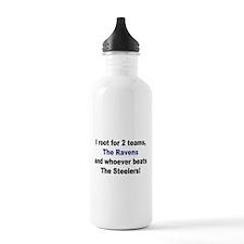 Ravens Football Water Bottle