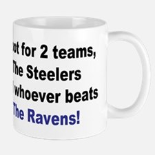 Steelers Football Mug