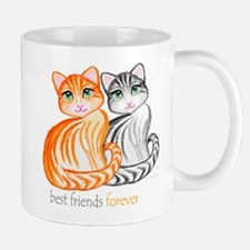 best friends forever kitties Mug
