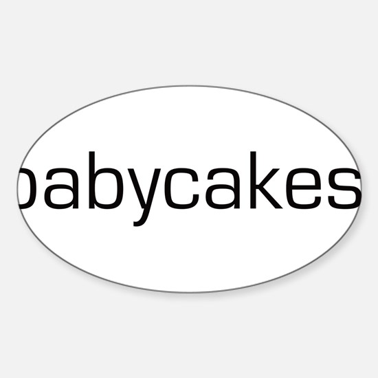Babycakes Oval Decal