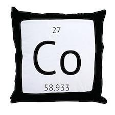 cobolt Throw Pillow