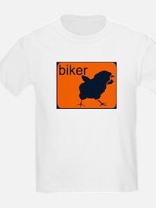 BIKER CHICK Kids T-Shirt