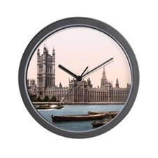 Vintage Houses of Parliament Wall Clock