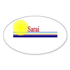 Sarai Oval Decal