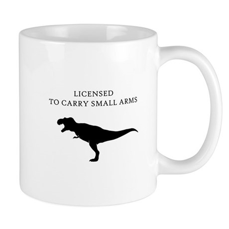 Licensed to Carry Small Arms Mug