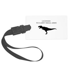 Licensed to Carry Small Arms Luggage Tag