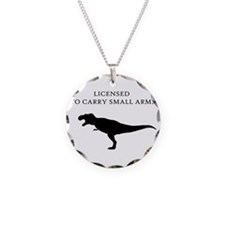 Licensed to Carry Small Arms Necklace