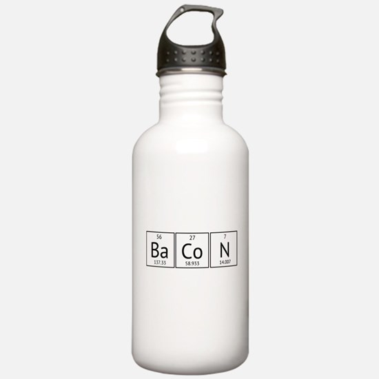 BaCoN Periodic Element Water Bottle