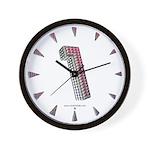 Glamor Brooch 1 Wall Clock
