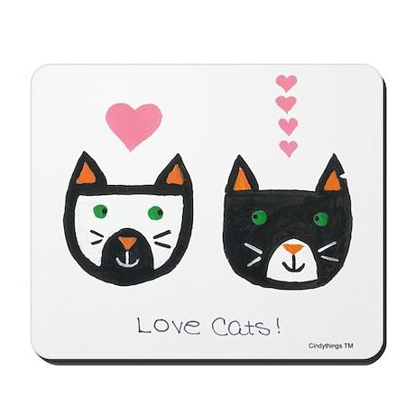 Love Cats Mousepad