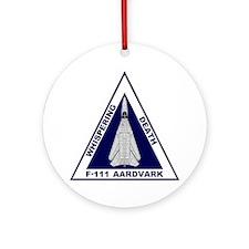 F-111 Aardvark Ornament (Round)