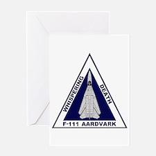 F-111 Aardvark Greeting Card