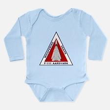 F-111 Aardvark Long Sleeve Infant Bodysuit