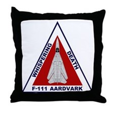 F-111 Aardvark Throw Pillow