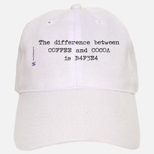 Coffee and Cocoa Baseball Baseball Cap