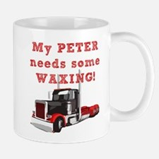 My PETER needs some WAXING! Mug
