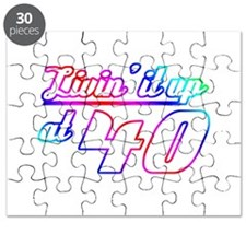 40th Birthday Party Puzzle