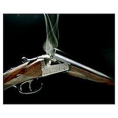 Smoking shotgun Poster