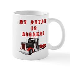 My PETER is BIGGER! Mug