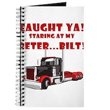 CAUGHT ya! Staring at my PETER! Journal