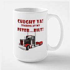 CAUGHT ya! Staring at my PETER! Mug