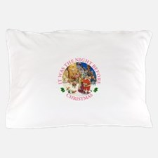 Christmas Eve at the North Pole Pillow Case