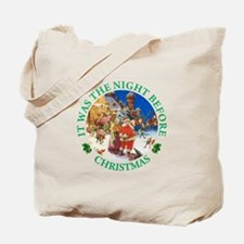 Christmas Eve at the North Pole Tote Bag