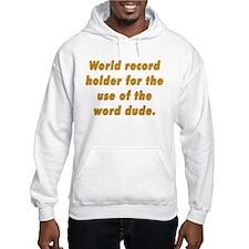 world record holder Hoodie