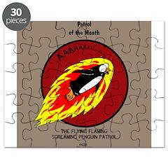 KNOTS Retro Patrol Patch Puzzle