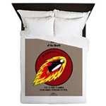 KNOTS Retro Patrol Patch Queen Duvet