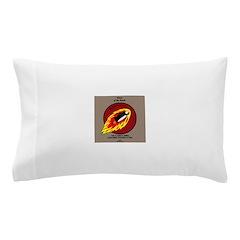 KNOTS Retro Patrol Patch Pillow Case