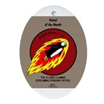 KNOTS Retro Patrol Patch Ornament (Oval)