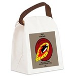 KNOTS Retro Patrol Patch Canvas Lunch Bag