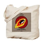 KNOTS Retro Patrol Patch Tote Bag